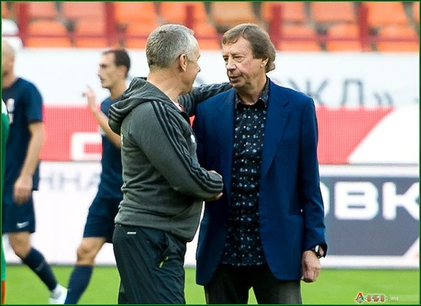 Кучук и Семин после матча